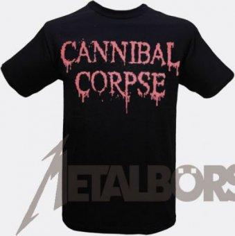 T-Shirt Cannibal Corpse Logo