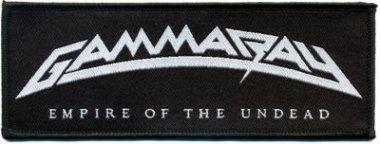 kleiner Aufnäher Gamma Ray Empire of the Undead