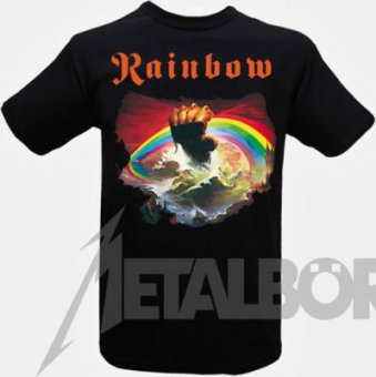 T-Shirt Rainbow Rising L