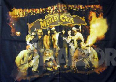 Flagge Mötley Crüe Evil Entertainment