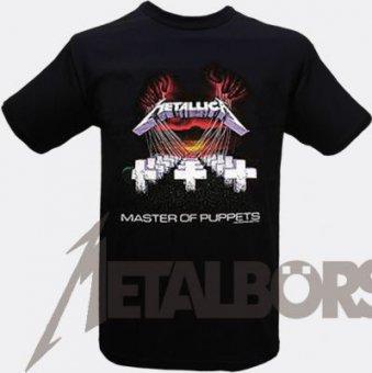 T-Shirt Metallica Master of Puppets XL