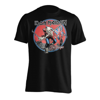 T-Shirt Iron Maiden The Trooper Red Sky