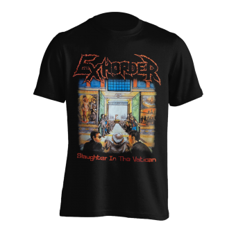 T-Shirt Exhorder Slaughter in the Vatican