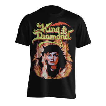 T-Shirt King Diamond Fatal Portrait