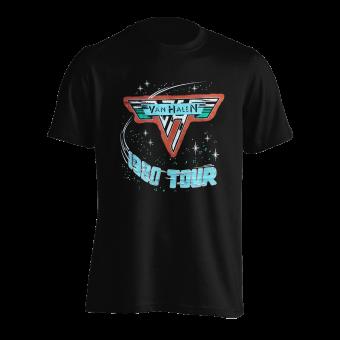 T-Shirt Van Halen Tour 1980