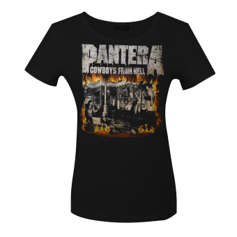 Girlie Shirt Pantera Cowboys from Hell