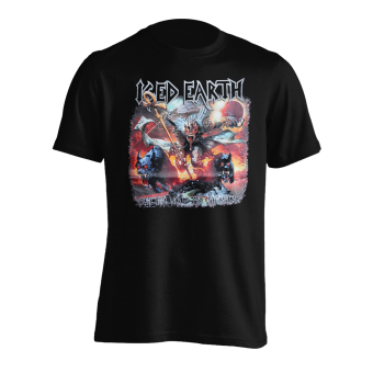 T-Shirt Iced Earth Something Wicked