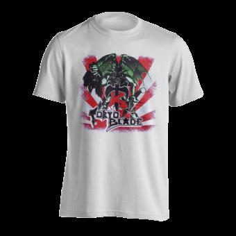 T-Shirt Tokyo Blade First Album ( weiß )