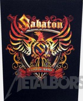 Rückenaufnäher Sabaton Coat of Arms