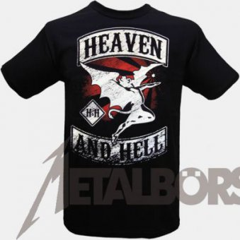 T-Shirt Heaven and Hell Flying Demon