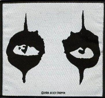 kleiner Aufnäher Alice Cooper Eyes