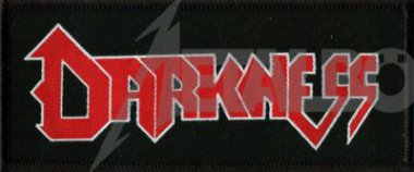 kleiner Aufnäher Darkness Logo