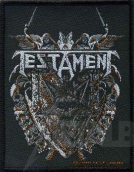 kleiner Aufnäher Testament Shield
