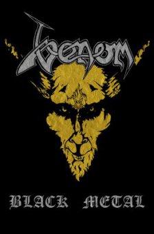 Flagge Venom Black Metal