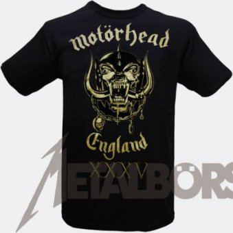 T-Shirt Motörhead Warpig ( gold ) L