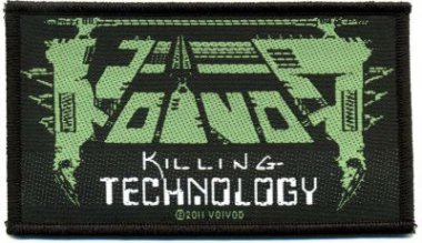 kleiner Aufnäher Voivod Killing Technology