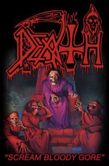 Flagge Death Scream bloody Gore