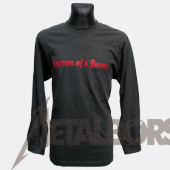 Longsleeve System of a Down Red Logo