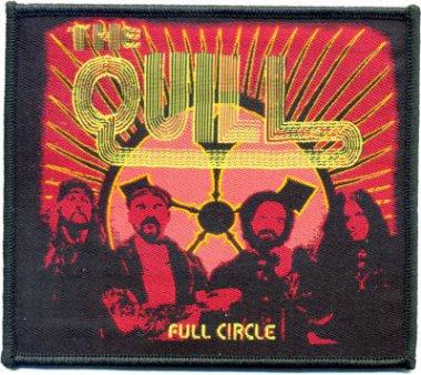kleiner Aufnäher The Quill Full Circle