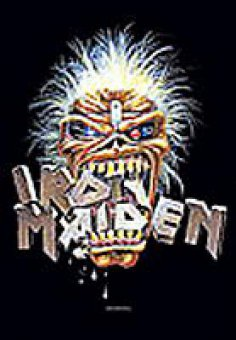 Flagge Iron Maiden Crunch