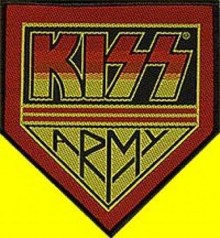 kleiner Aufnäher Kiss Army