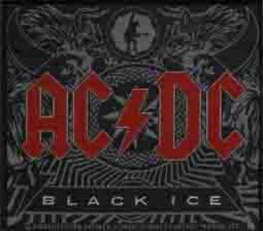 kleiner Aufnäher AC/DC Black Ice
