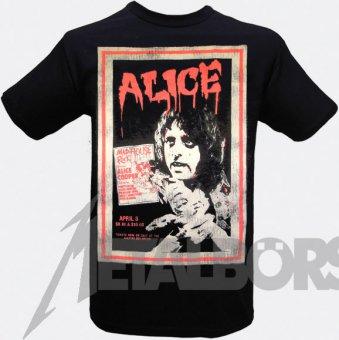 T-Shirt Alice Cooper Vintage Poster