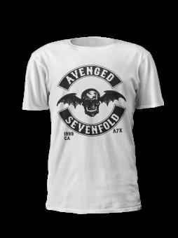 T-Shirt Avenged Sevenfold Classic Seal ( weiß )