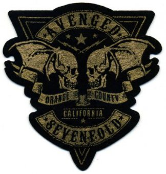 kleiner Aufnäher Avenged Sevenfold Orange County