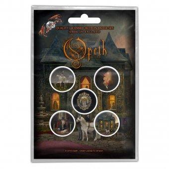 Button Set Opeth Artworks