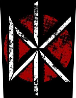 Rückenaufnäher Dead Kennedys Vintage Logo