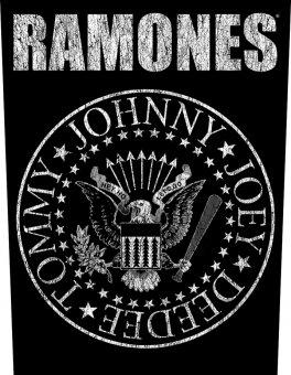 Rückenaufnäher Ramones Classic Logo