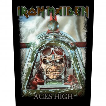Rückenaufnäher Iron Maiden Aces High