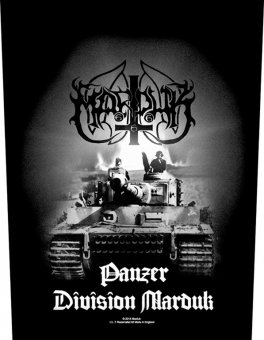 Rückenaufnäher Marduk Panzer Dision Marduk