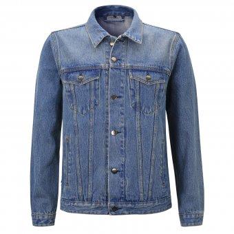 Jeans Jacke Damage Case ( blau ) Capricorn Rockwear