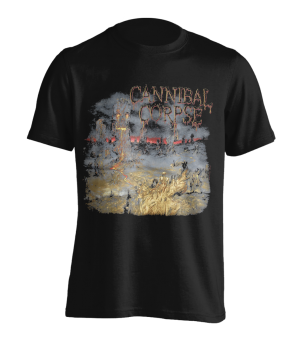 T-Shirt Cannibal Corpse A Skeletal Domain 1 L