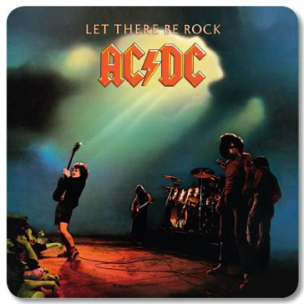 Untersetzer AC/DC Let there be Rock