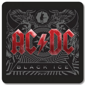 Untersetzer AC/DC Black Ice