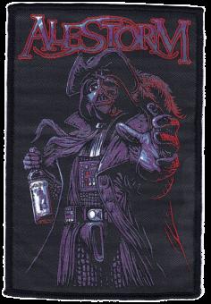 kleiner Aufnäher Alestorm Lack of Rum