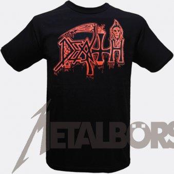 T-Shirt Death Red Logo M