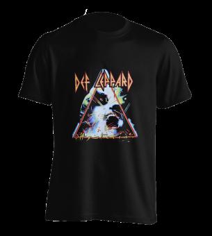 T-Shirt Def Leppard Hysteria