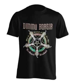 T-Shirt Dimmu Borgir With the Triumph of free Will
