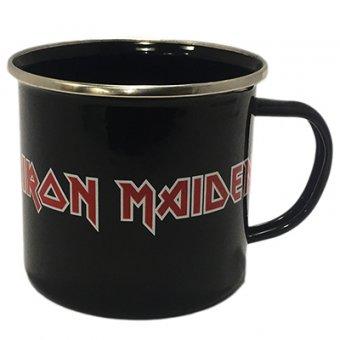 Tasse ( Blech ) Iron Maiden Logo