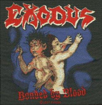 kleiner Aufnäher Exodus Bonded by Blood