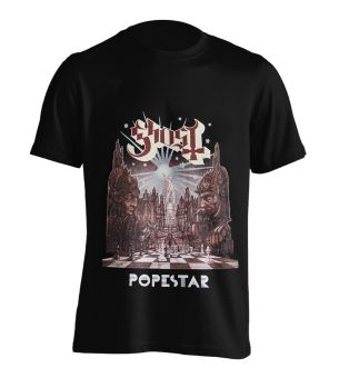 T-Shirt Ghost Popestar