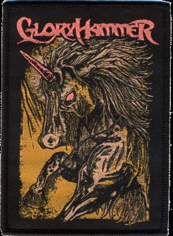 kleiner Aufnäher Gloryhammer Unicorn