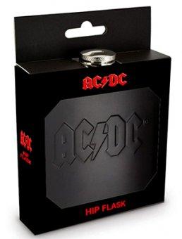 Flachmann AC/DC Logo