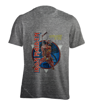 T-Shirt Iron Maiden Somewhere in Time ( grey )