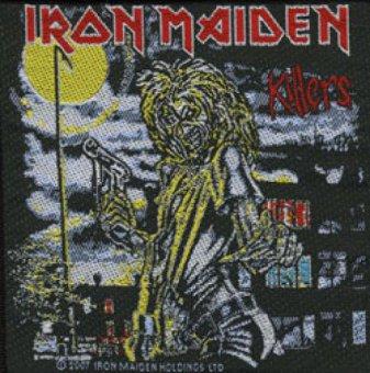 kleiner Aufnäher Iron Maiden Killers