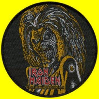 kleiner Aufnäher Iron Maiden Killers rund
